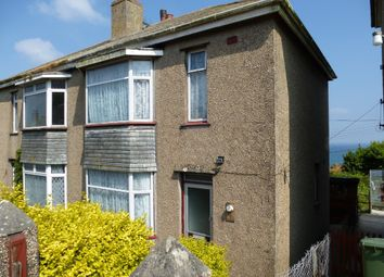 Thumbnail 3 bed semi-detached house for sale in Gloucester Road, Newlyn, Penzance