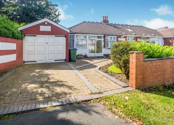Thumbnail 2 bed semi-detached bungalow for sale in Moat Road, Oldbury