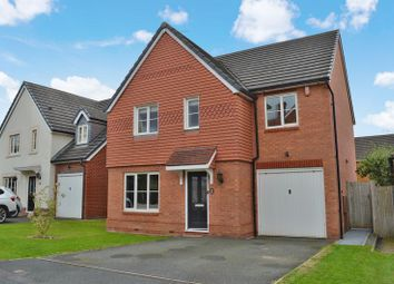 Thumbnail 4 bed detached house for sale in Lytham Green, Muxton, Telford, Shropshire.