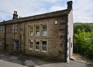 Thumbnail 1 bed cottage for sale in Water Street, Hinchliffe Mill, Holmfirth