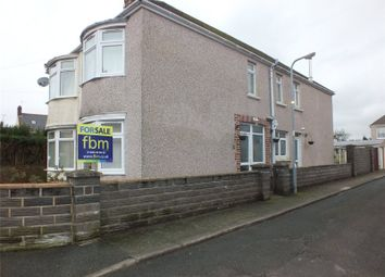 Thumbnail 3 bed semi-detached house for sale in Eastleigh Drive, Milford Haven, Pembrokeshire