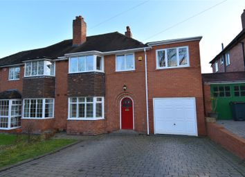 Thumbnail 4 bed semi-detached house for sale in Hole Lane, Bournville Village Trust, Birmingham