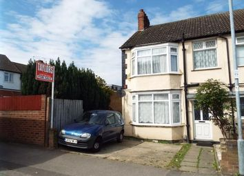 Thumbnail 2 bedroom end terrace house for sale in Runley Road, Luton, Bedfordshire