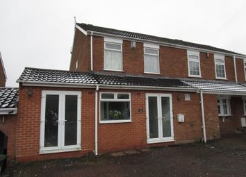 Thumbnail 3 bedroom semi-detached house for sale in Ranworth Rise, Goldthorn Park, Wolverhampton