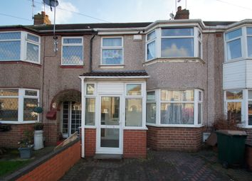 Thumbnail 3 bed terraced house to rent in Nunts Park Avenue, Holbrooks, Coventry, West Midlands