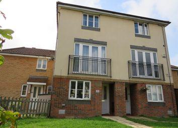 Thumbnail 4 bed town house for sale in Parkminster, Monkston, Milton Keynes