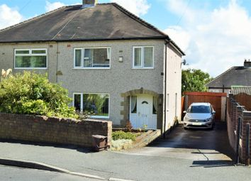 Thumbnail 3 bed semi-detached house for sale in Towngate, Northowram, Halifax