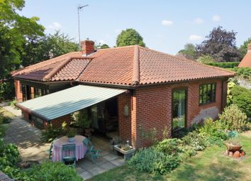 Thumbnail 3 bed detached bungalow for sale in Fornham Road, Bury St. Edmunds
