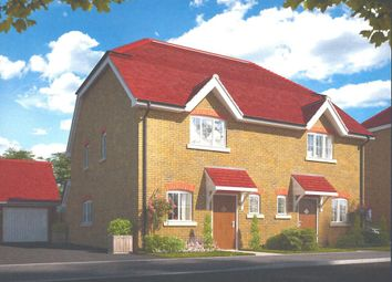 Thumbnail 2 bed semi-detached house for sale in Phillips Close, Wokingham