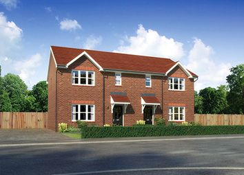 "Thumbnail 3 bedroom semi-detached house for sale in ""Caplewood"" At Scotchbarn Lane, Prescot L34, Prescot,"