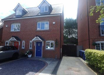 Thumbnail 3 bed semi-detached house for sale in Rylands Drive, Warrington, Cheshire