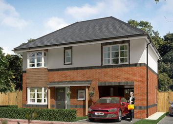 "Thumbnail 4 bed detached house for sale in ""The Hanbury"" at Cobblers Lane, Pontefract"