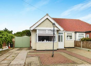 Thumbnail 3 bed semi-detached bungalow for sale in Brooke Avenue, Caister-On-Sea, Great Yarmouth