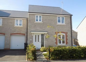 Thumbnail 4 bed end terrace house for sale in Cowleaze, Purton, Swindon