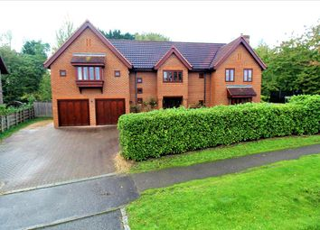 Thumbnail 7 bed detached house for sale in Pattison Lane, Woolstone, Milton Keynes