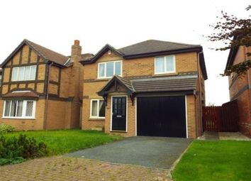 Thumbnail 4 bed detached house to rent in Mallard Court, Blackpool