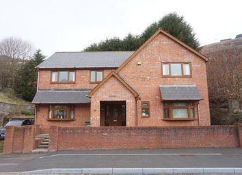Thumbnail 4 bed detached house for sale in Queens Road, Elliots Town, New Tredegar