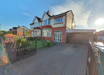 Thumbnail 4 bed semi-detached house to rent in Egerton Road North, Manchester