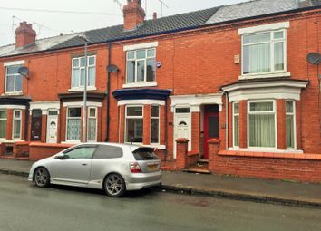 Thumbnail 3 bed terraced house to rent in 33 Laura Street, Crewe, Cheshire