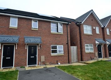 Thumbnail 2 bed semi-detached house to rent in Marsworth Close, Manchester