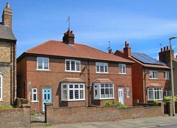 Thumbnail 3 bed semi-detached house for sale in 50 Newbiggin, Malton