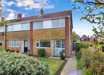 Thumbnail 3 bed end terrace house to rent in Laburnum Walk, Rustington, Littlehampton