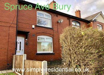 Thumbnail 2 bed town house for sale in Spruce Avenue, Bury