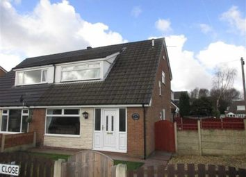 Thumbnail 3 bed semi-detached house for sale in Honiton Close, Leigh, Lancashire