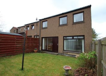 Thumbnail 2 bed end terrace house for sale in Leckethill Avenue, Westfield, Cumbernauld, North Lanarkshire