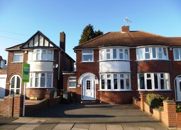 Thumbnail 3 bed semi-detached house for sale in Willclare Road, Birmingham