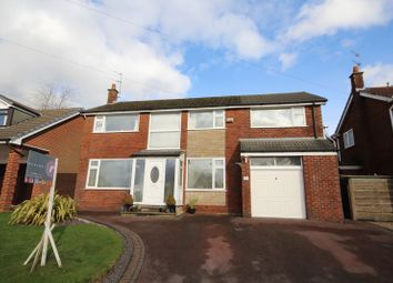 Thumbnail 4 bed detached house for sale in Camberley Drive, Bamford, Rochdale