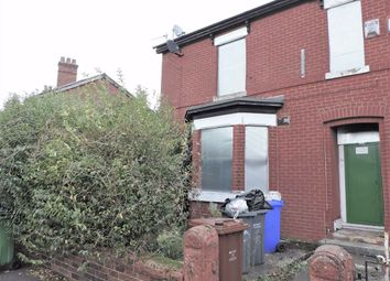 Thumbnail 3 bed end terrace house for sale in Carmoor Road, Manchester