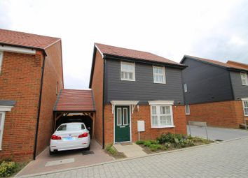 Thumbnail 3 bed detached house for sale in Elinor Vale, Castle Hill, Ebbsfleet Valley, Swanscombe