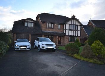 Thumbnail 5 bed detached house for sale in Bristow Close, Great Sankey, Warrington