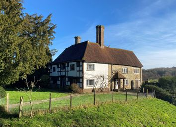 Thumbnail 4 bed farmhouse to rent in Borders Lane, Etchingham