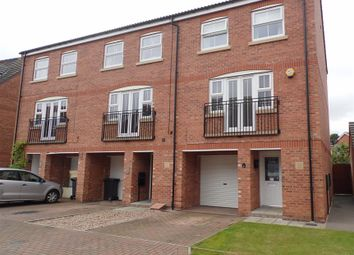 Thumbnail 3 bed town house for sale in Mercury Close, North Hykeham, Lincoln