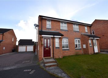 Thumbnail 3 bed semi-detached house to rent in Badminton View, Heritage Village, Leeds
