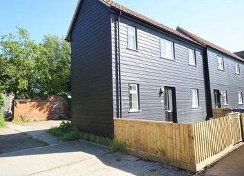 Thumbnail 1 bed end terrace house for sale in Church Lane, Felixstowe, Suffolk