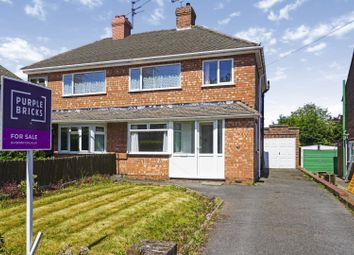 Thumbnail 3 bed semi-detached house for sale in Lawnswood Avenue, Wolverhampton