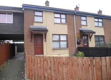 Thumbnail 3 bed end terrace house to rent in Corbally Park, Muckamore, Antrim