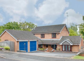 Thumbnail 5 bed detached house for sale in Weatheroak Close, Webheath, Redditch