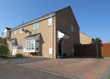 Thumbnail 4 bed end terrace house for sale in Durham Close, Biggleswade