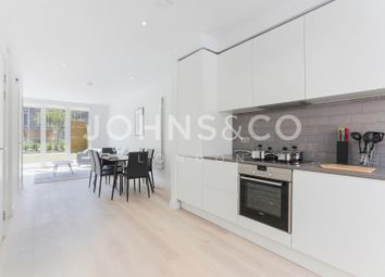 Thumbnail 3 bedroom terraced house to rent in Rope Terrace, Royal Wharf, London