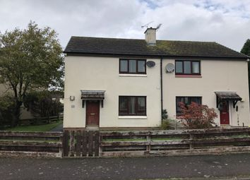 Thumbnail 2 bed semi-detached house to rent in St. Teresas Crescent, Dumfries