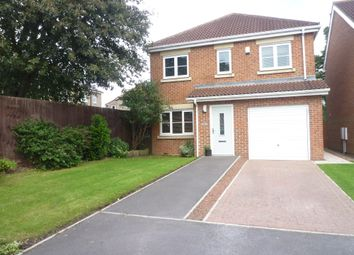 Thumbnail 4 bedroom detached house for sale in Beaumont Grange, Seghill, Northumberland