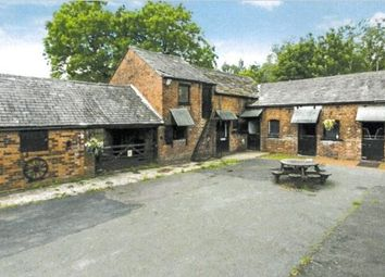 Thumbnail 4 bed barn conversion for sale in Lodge Lane, Leigh
