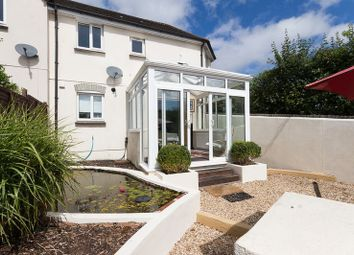 Thumbnail 2 bedroom end terrace house for sale in Exeter Road, Chudleigh, Newton Abbot