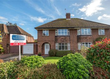 Thumbnail 3 bedroom semi-detached house for sale in Kent Gardens, Ruislip, Middlesex