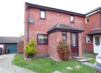 Thumbnail 3 bed semi-detached house to rent in Hampshire Close, Shaw, Swindon