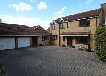Thumbnail 5 bed detached house for sale in Cabot Drive, Grange Park, Swindon